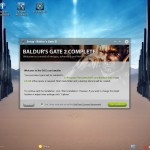 Games - Baldurs Gate installation