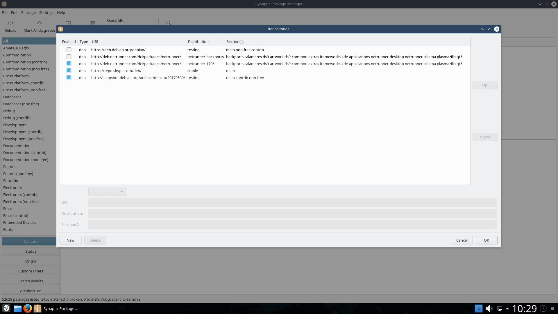 Enable Continous Updates – Netrunner GNU/Linux